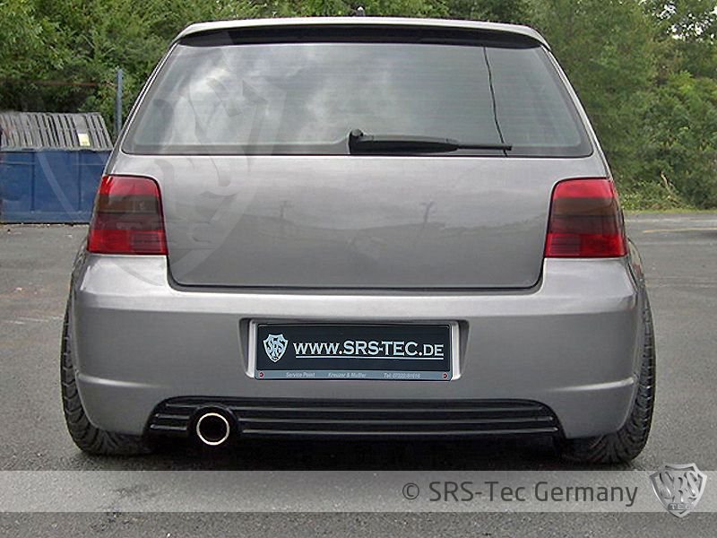 Rear Diffuser R-Style, VW Golf IV