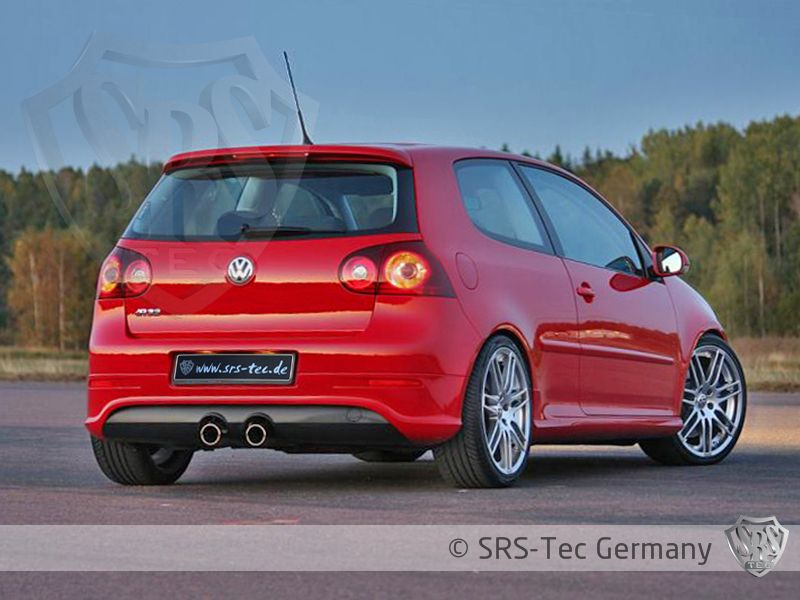 Rear Valance G5-R32 Duplex, VW Golf V