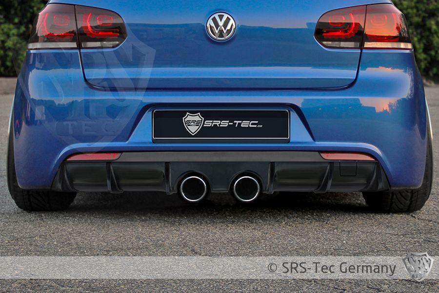 Rear Diffuser R20/R, VW Golf VI