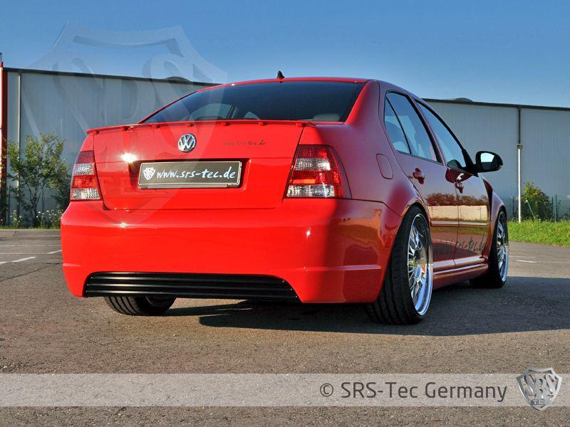 Rear Diffuser R-Style Clean, VW Bora